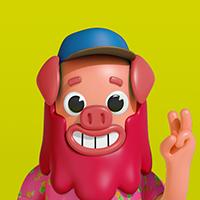 大度的晴天小猪
